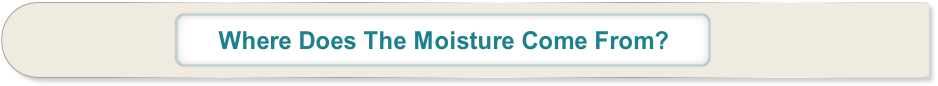 Where Does The Moisture Come From?